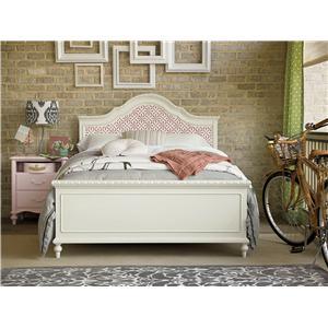 Smartstuff Bellamy Full Trellis Bed Bedroom Group