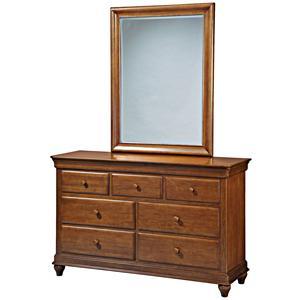 Smartstuff Classics 4.0 Drawer Dresser & Mirror