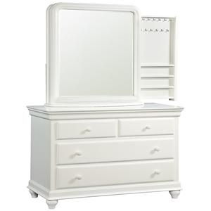 Smartstuff Classics 4.0 Single Dresser & Storage Mirror