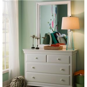Smartstuff Classics 4.0 Single Dresser & Mirror