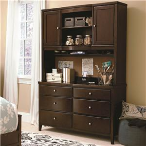 Smartstuff Freestyle Dresser and Hutch