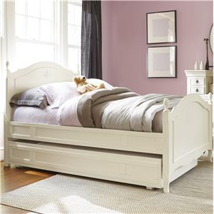 Smartstuff Genevieve Twin Reading Bed with Trundle