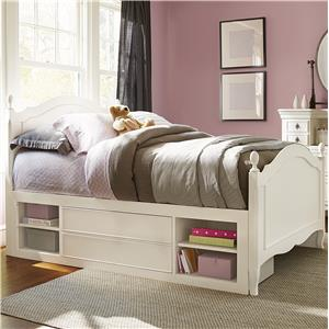 Smartstuff Genevieve Full Reading Bed with Underbed Storage