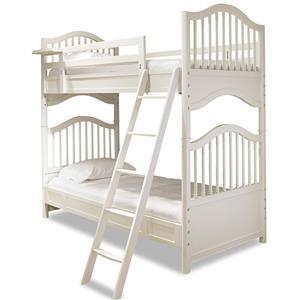 Smartstuff Genevieve Twin Bunk Bed