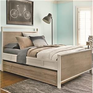 Smartstuff #myRoom Twin Panel Bed with Trundle