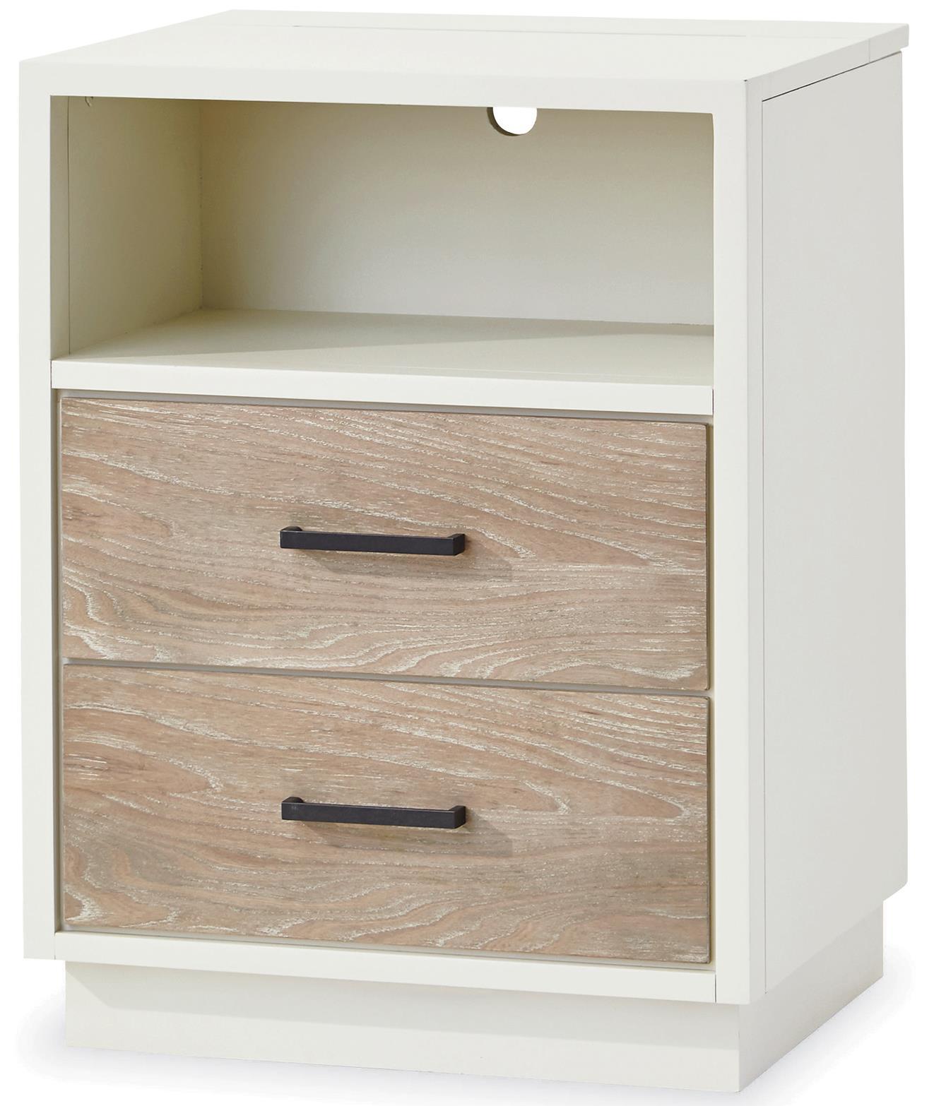 #myRoom 2 Drawer Nightstand by Smartstuff at HomeWorld Furniture