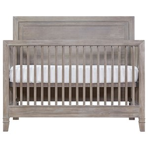 Casual Convertible Crib with Toddler Rail