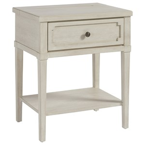 1 Drawer Night Table with Night Light