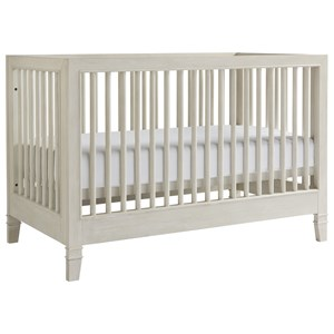 Crib in Alabaster Finish
