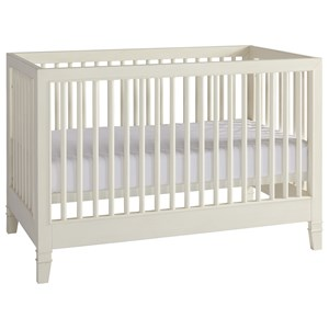 Crib in Light Cotton Finish