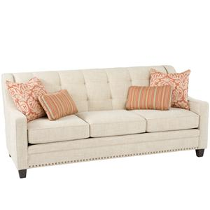 Transitional Sofa With Tufting