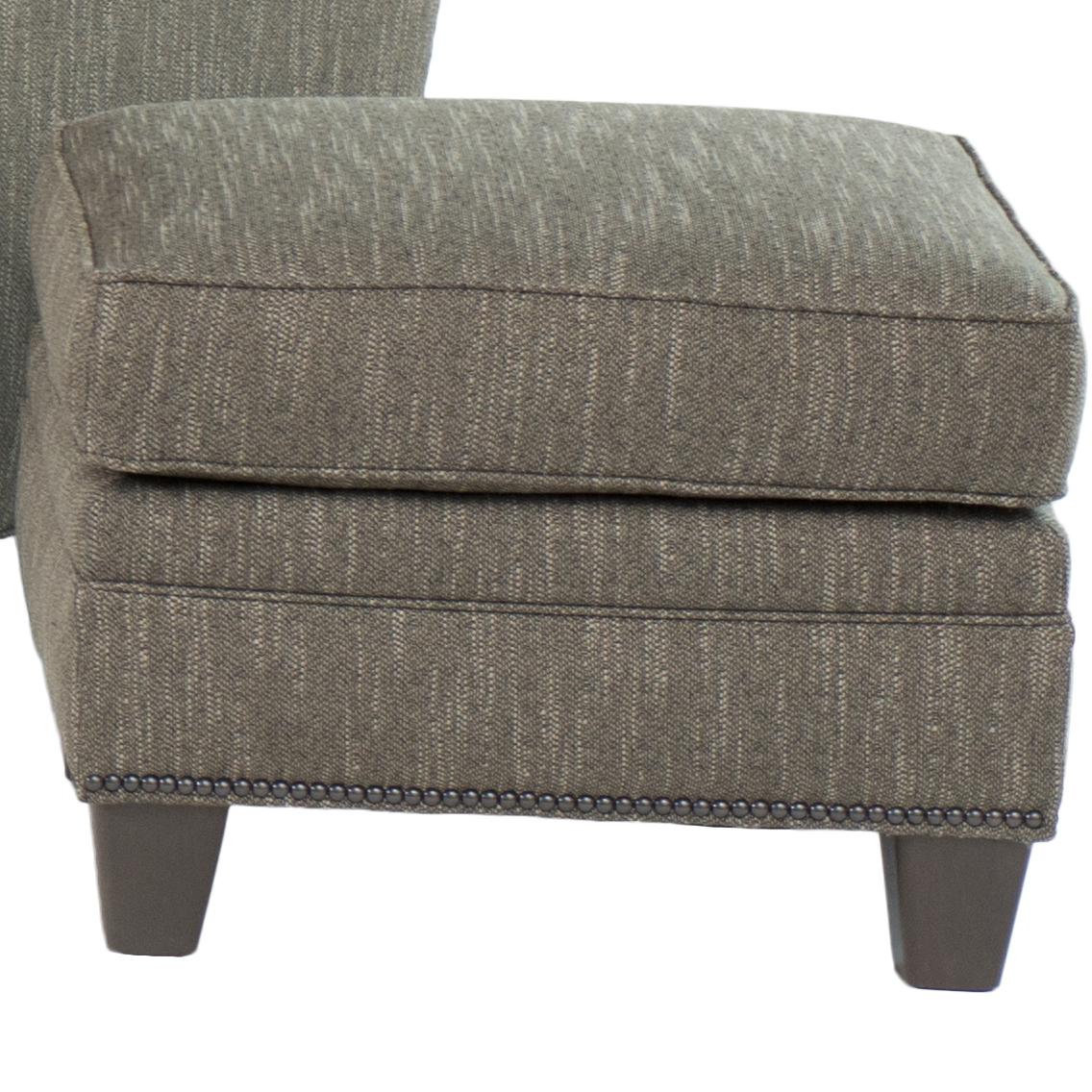 203  Transitional Ottoman by Smith Brothers at Rooms for Less