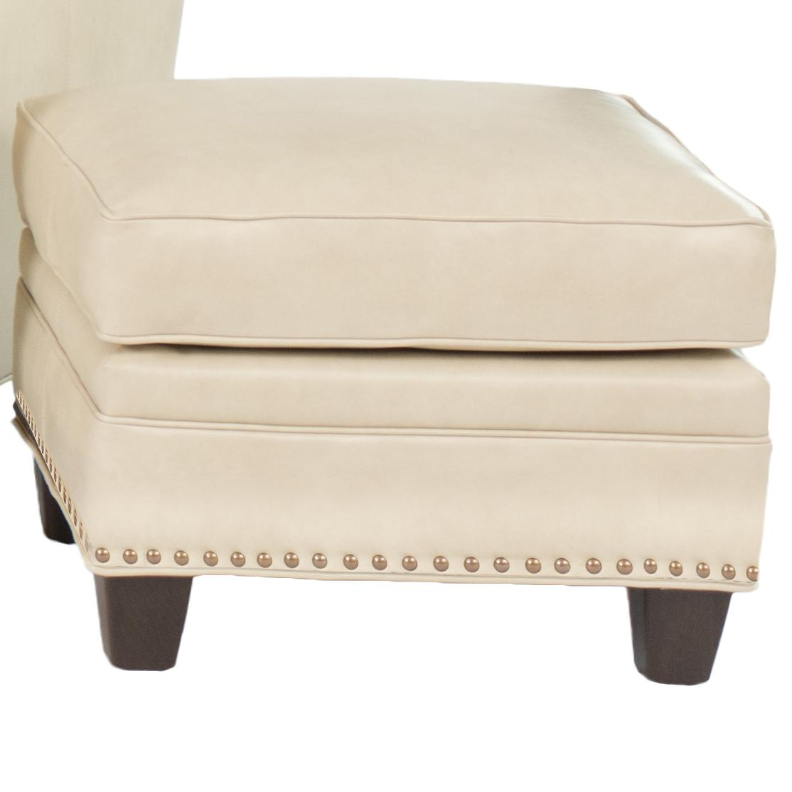 203L Transitional Ottoman by Smith Brothers at Mueller Furniture