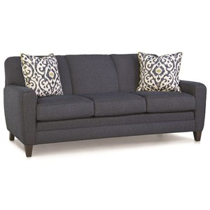 Sofa with Tapered Track Arms