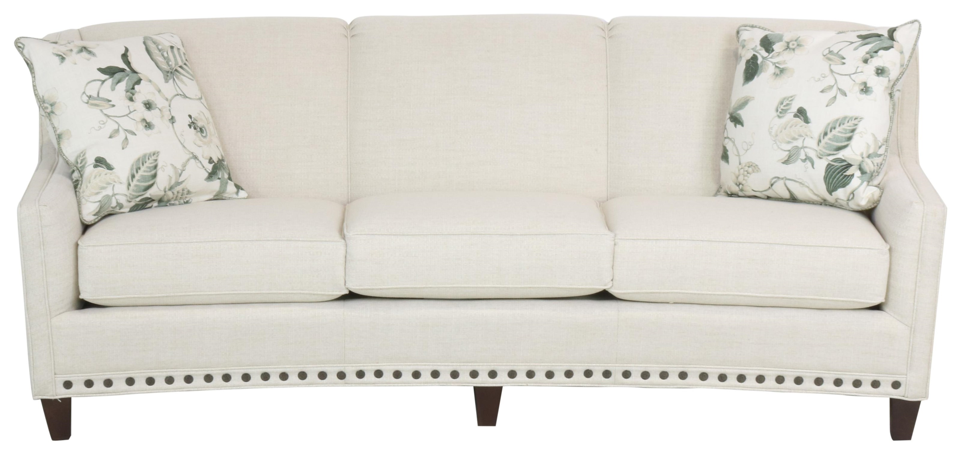 227 Stationary Sofa by Smith Brothers at Sprintz Furniture