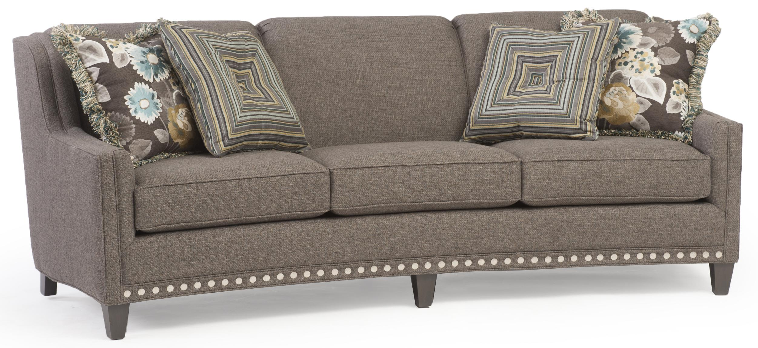 227 Stationary Sofa by Smith Brothers at Wayside Furniture