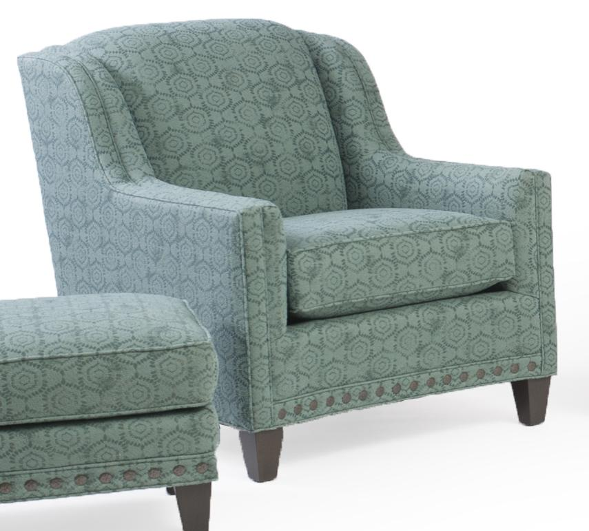 227 Upholstered Chair by Smith Brothers at O'Dunk & O'Bright Furniture