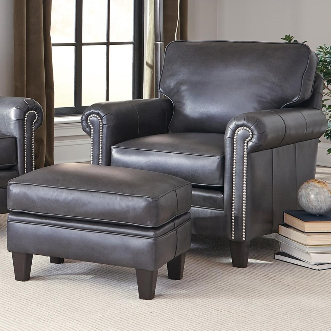234 Chair and Ottoman Set by Smith Brothers at Sprintz Furniture