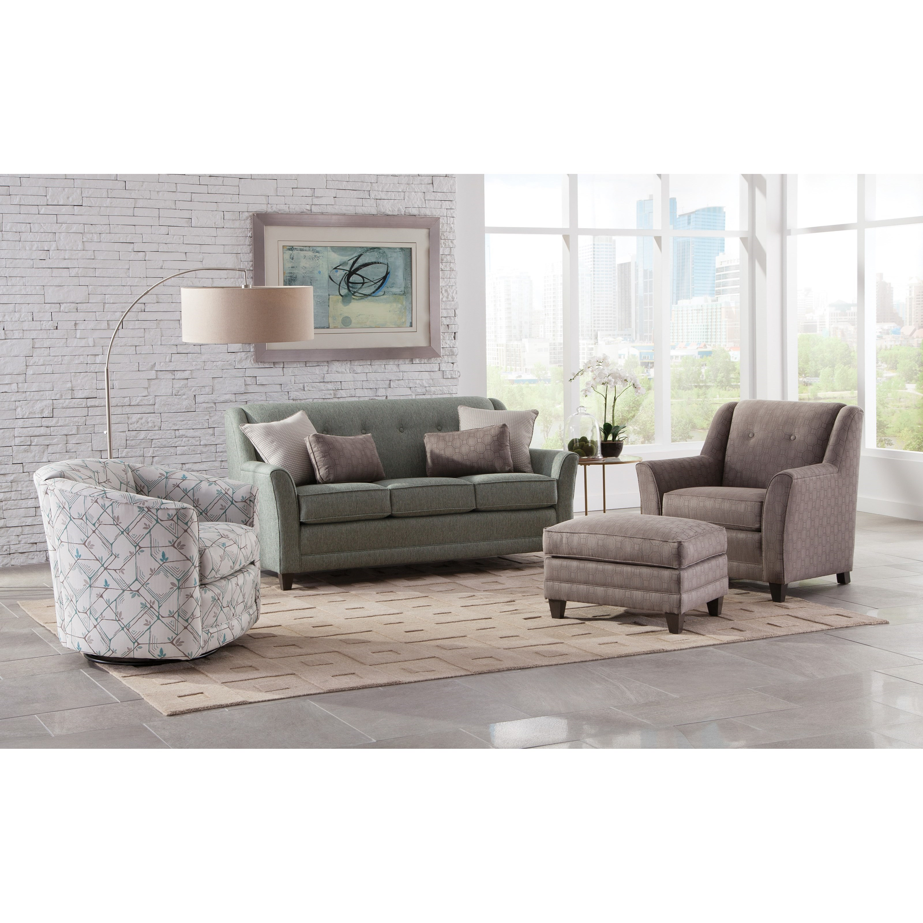236 Stationary Living Room Group by Smith Brothers at Rooms for Less