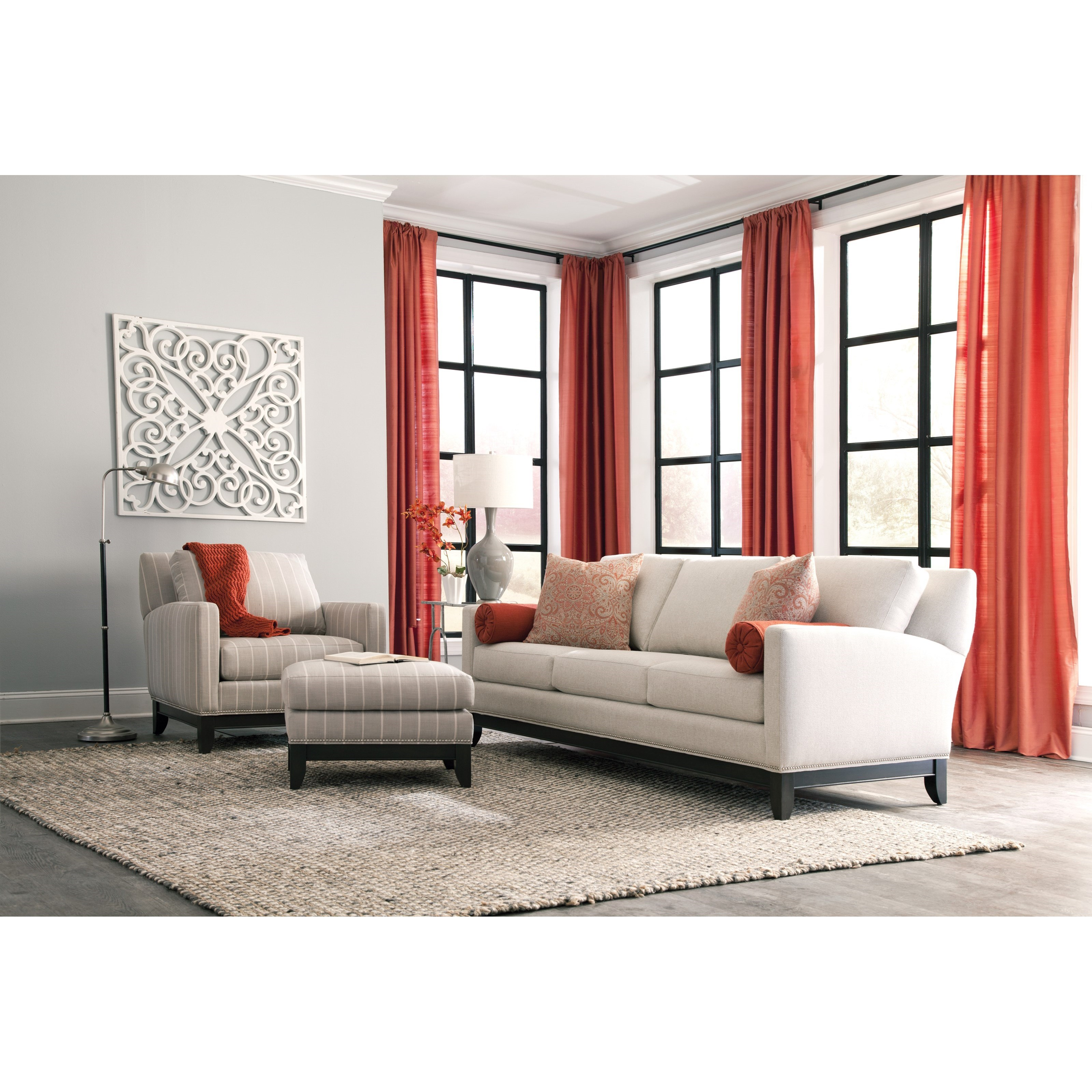 238 Stationary Living Room Group by Smith Brothers at Story & Lee Furniture