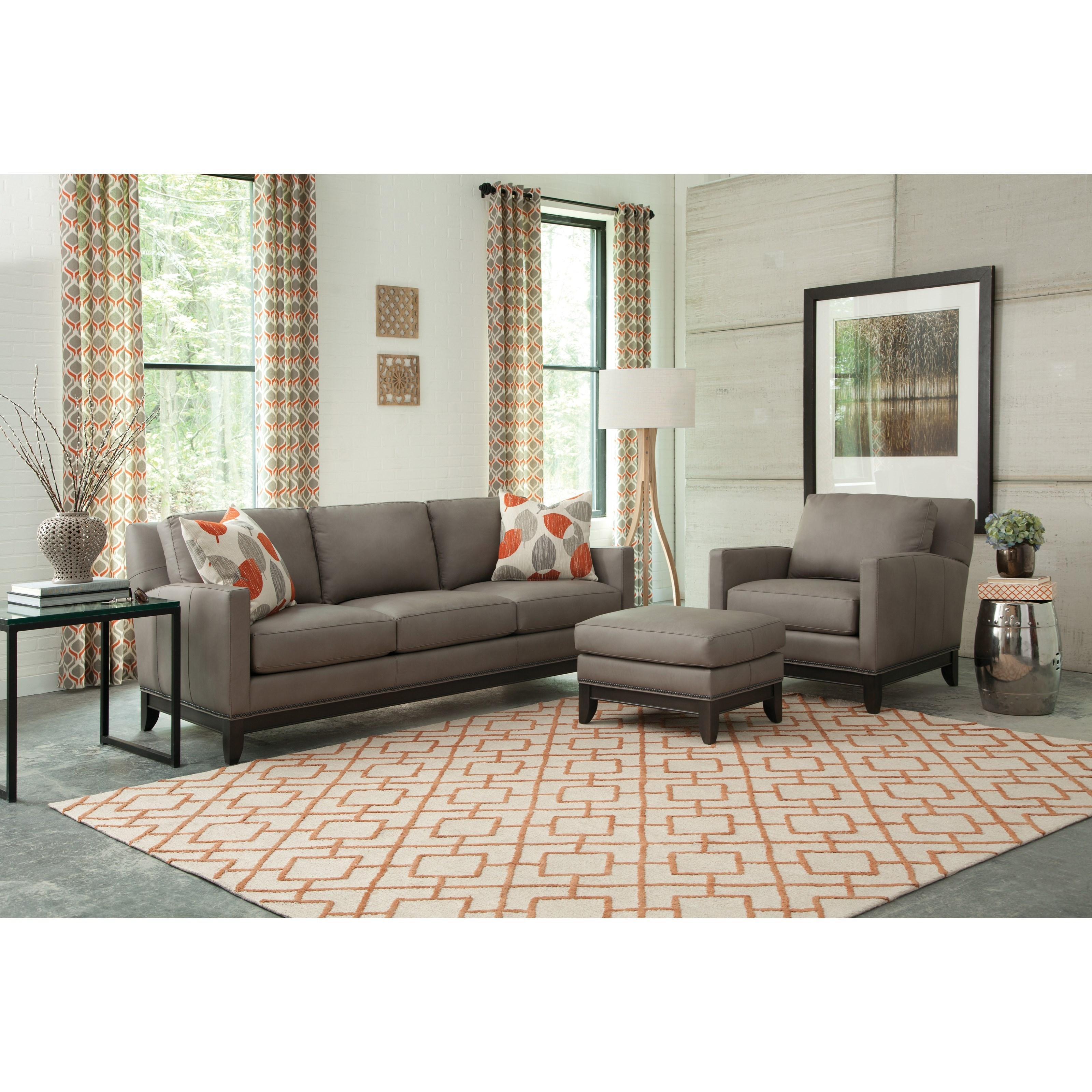 238 Stationary Living Room Group by Smith Brothers at Pilgrim Furniture City
