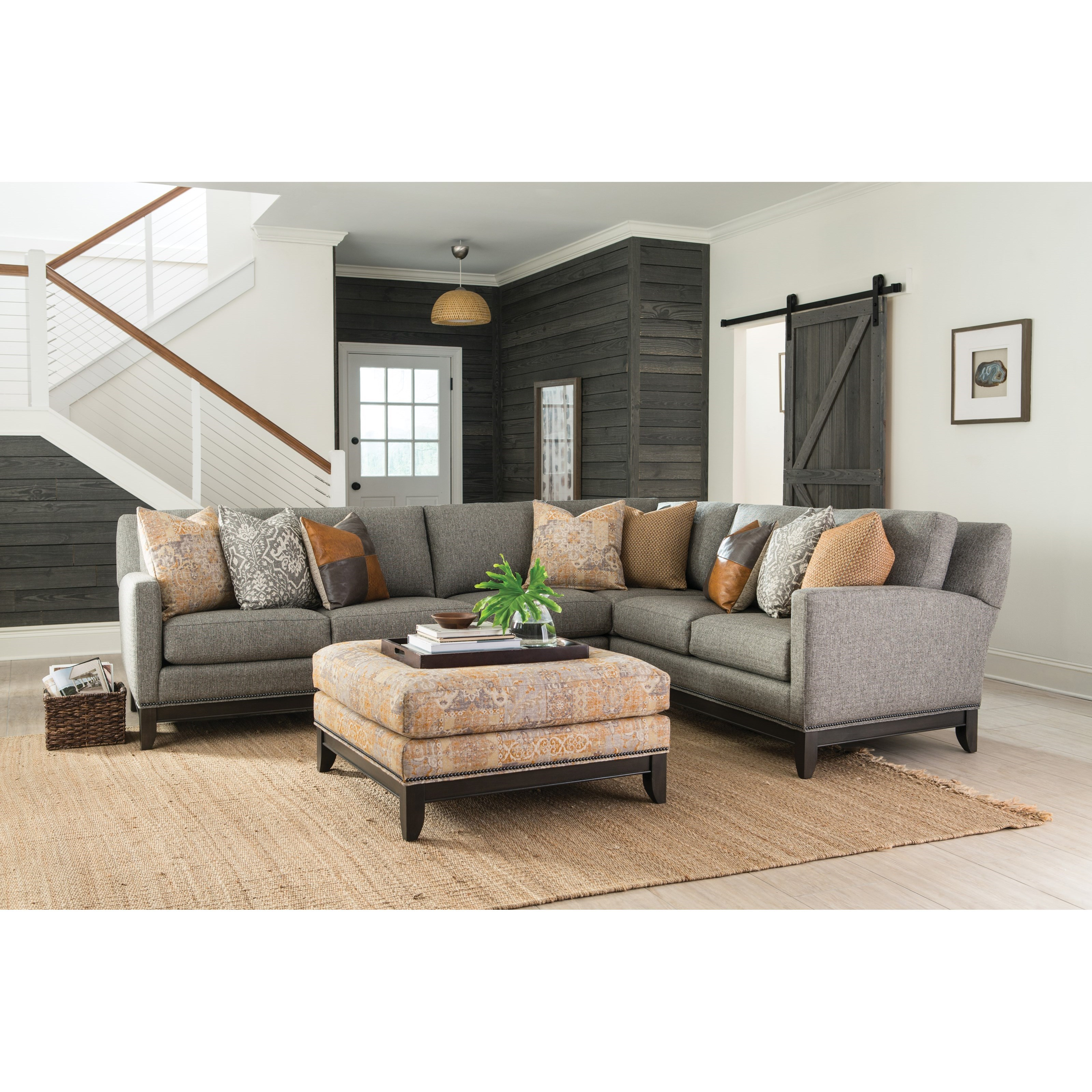 238 Sectional Sofa by Smith Brothers at Rooms for Less