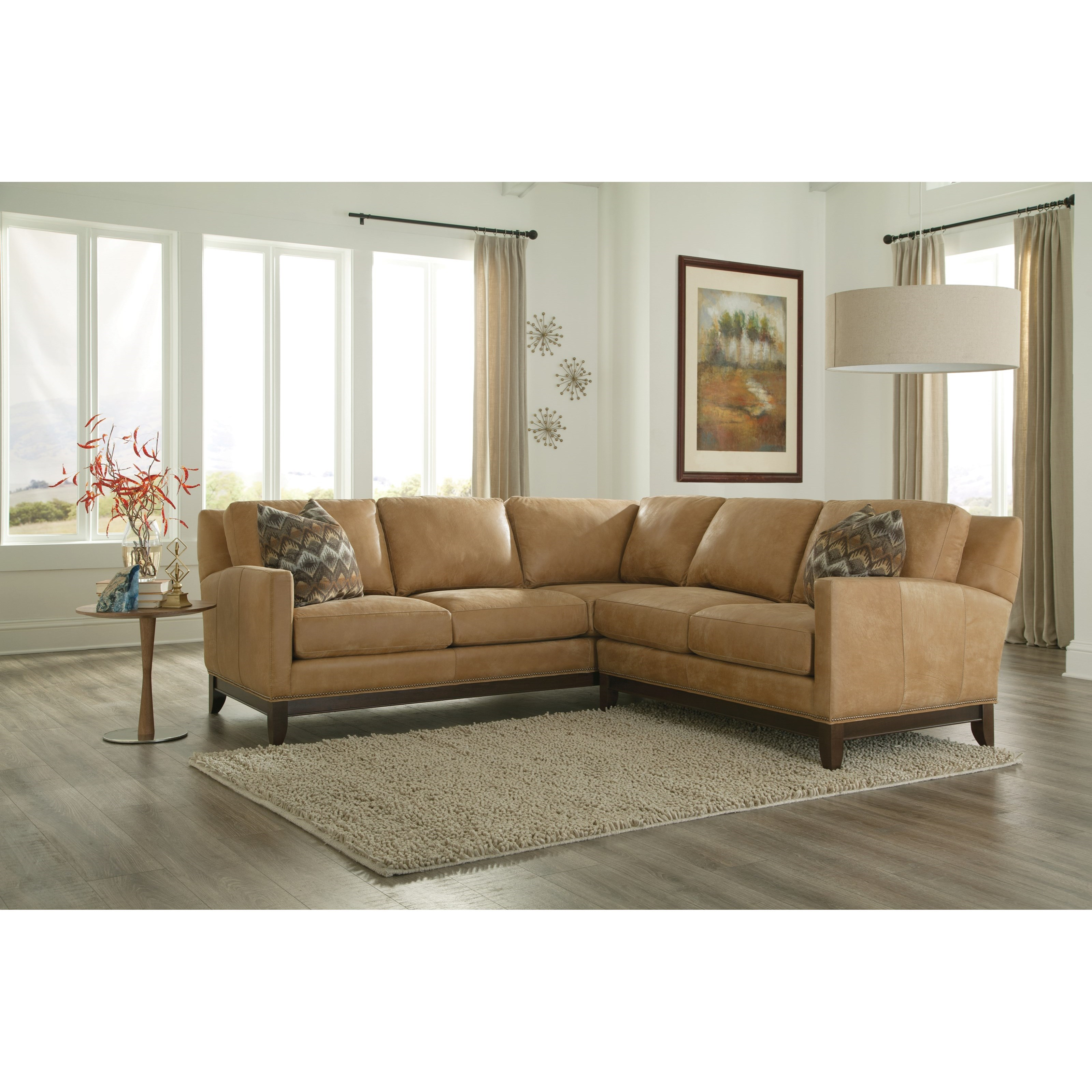 238 Sectional Sofa by Smith Brothers at Pilgrim Furniture City
