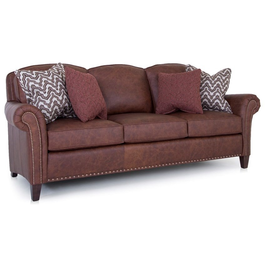246 Sofa by Smith Brothers at Gill Brothers Furniture
