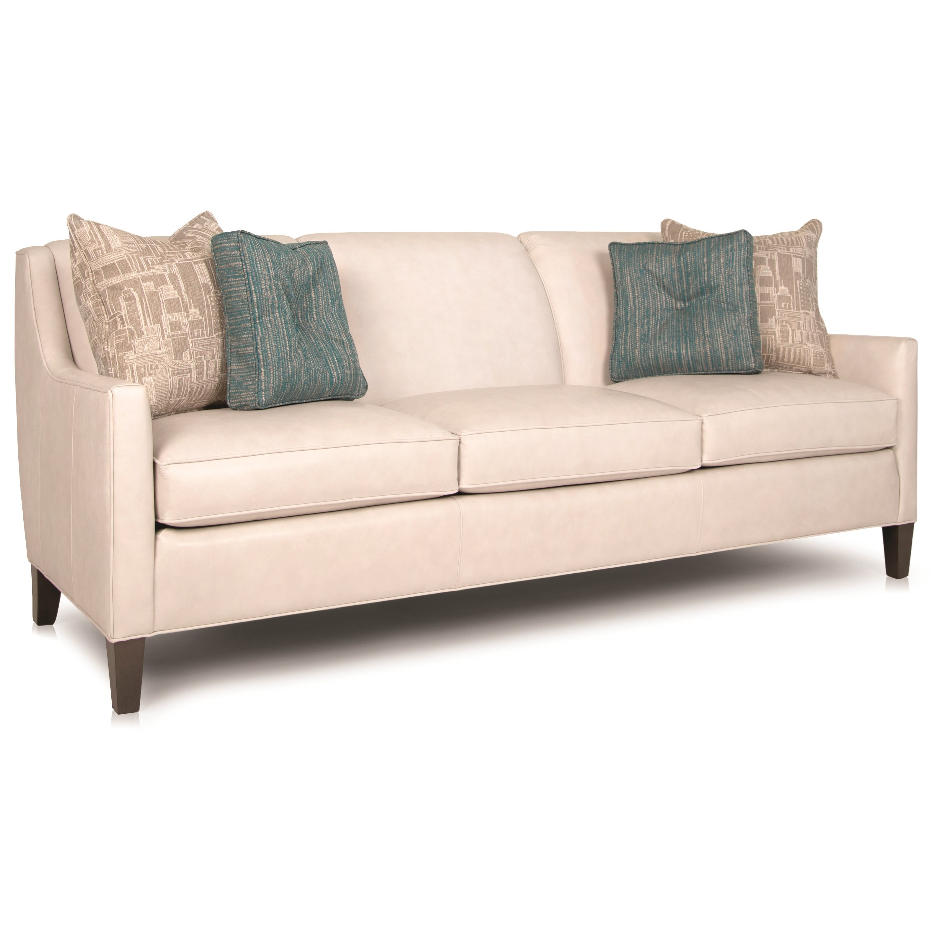 """248 74"""" Sofa by Smith Brothers at Saugerties Furniture Mart"""
