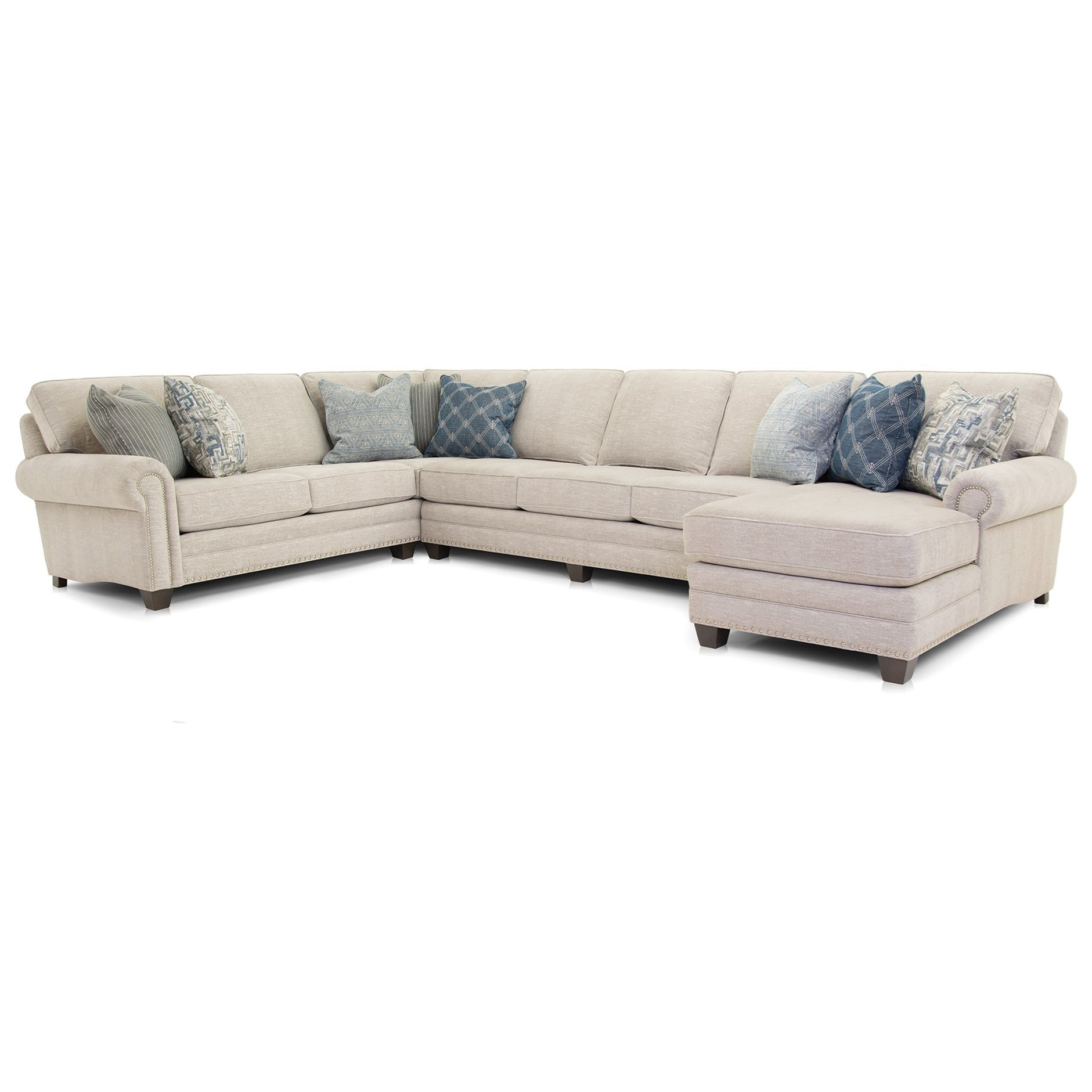 253 Sofa by Smith Brothers at Mueller Furniture