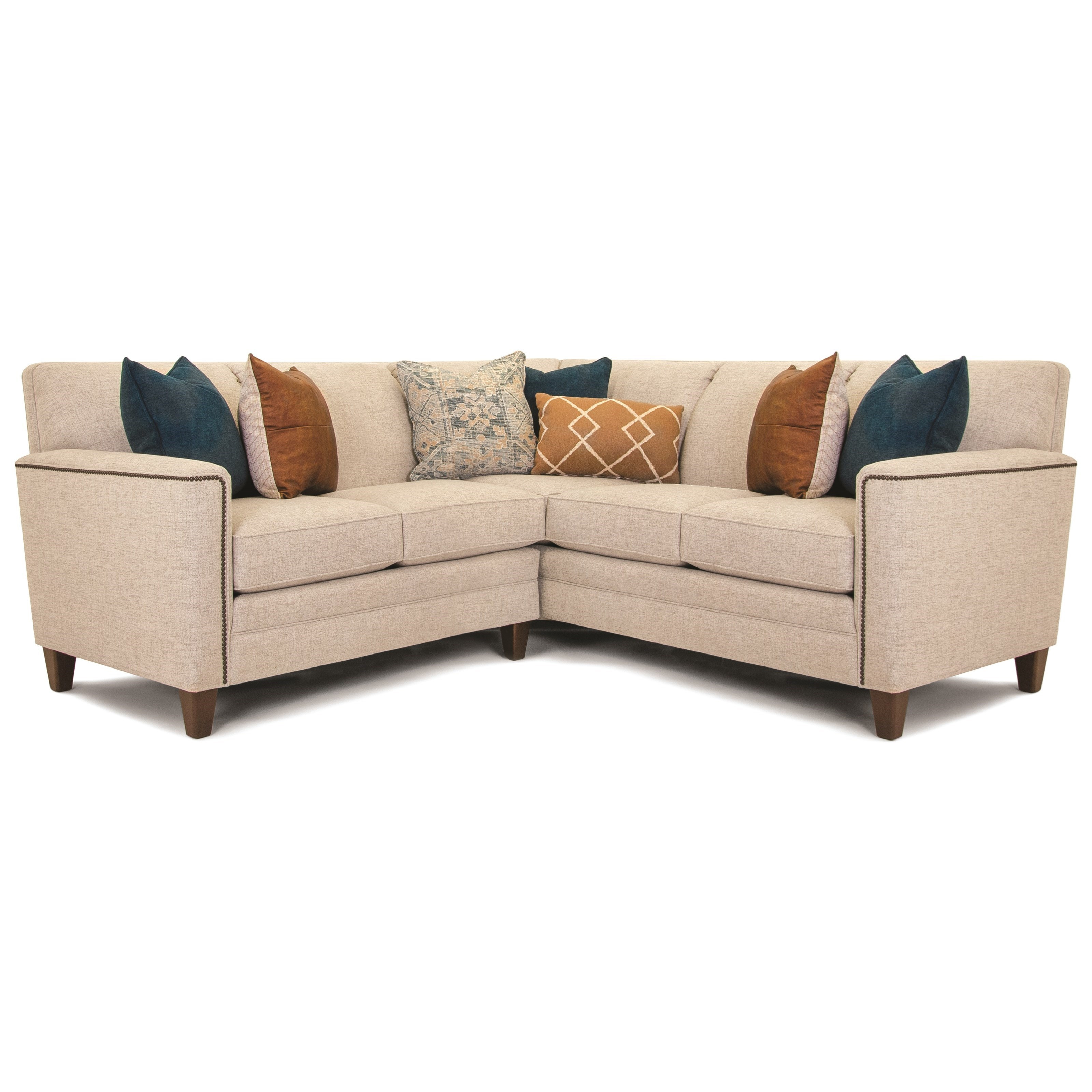 Build Your Own 3000 Series Customizable 2-Piece Sectional by Smith Brothers at Story & Lee Furniture