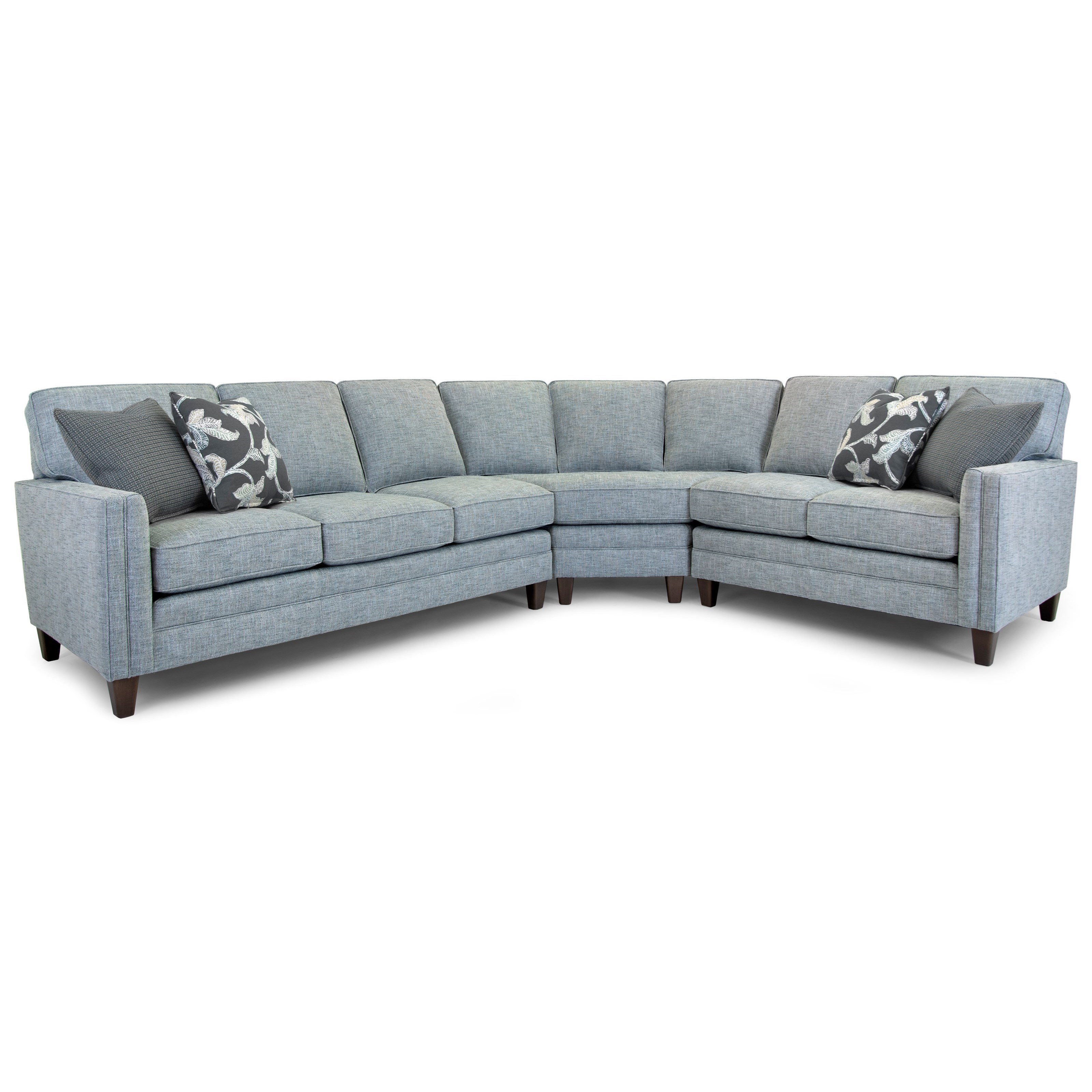 Build Your Own 3000 Series Customizable 3-Piece Sectional by Smith Brothers at Story & Lee Furniture