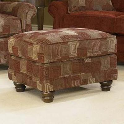 302 Ottoman by Smith Brothers at Turk Furniture