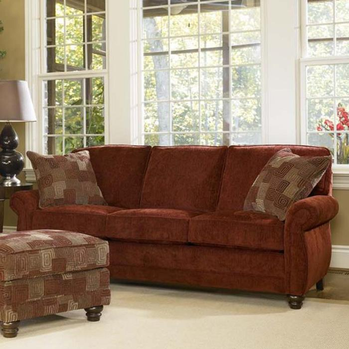 302 Sofa by Smith Brothers at Pilgrim Furniture City