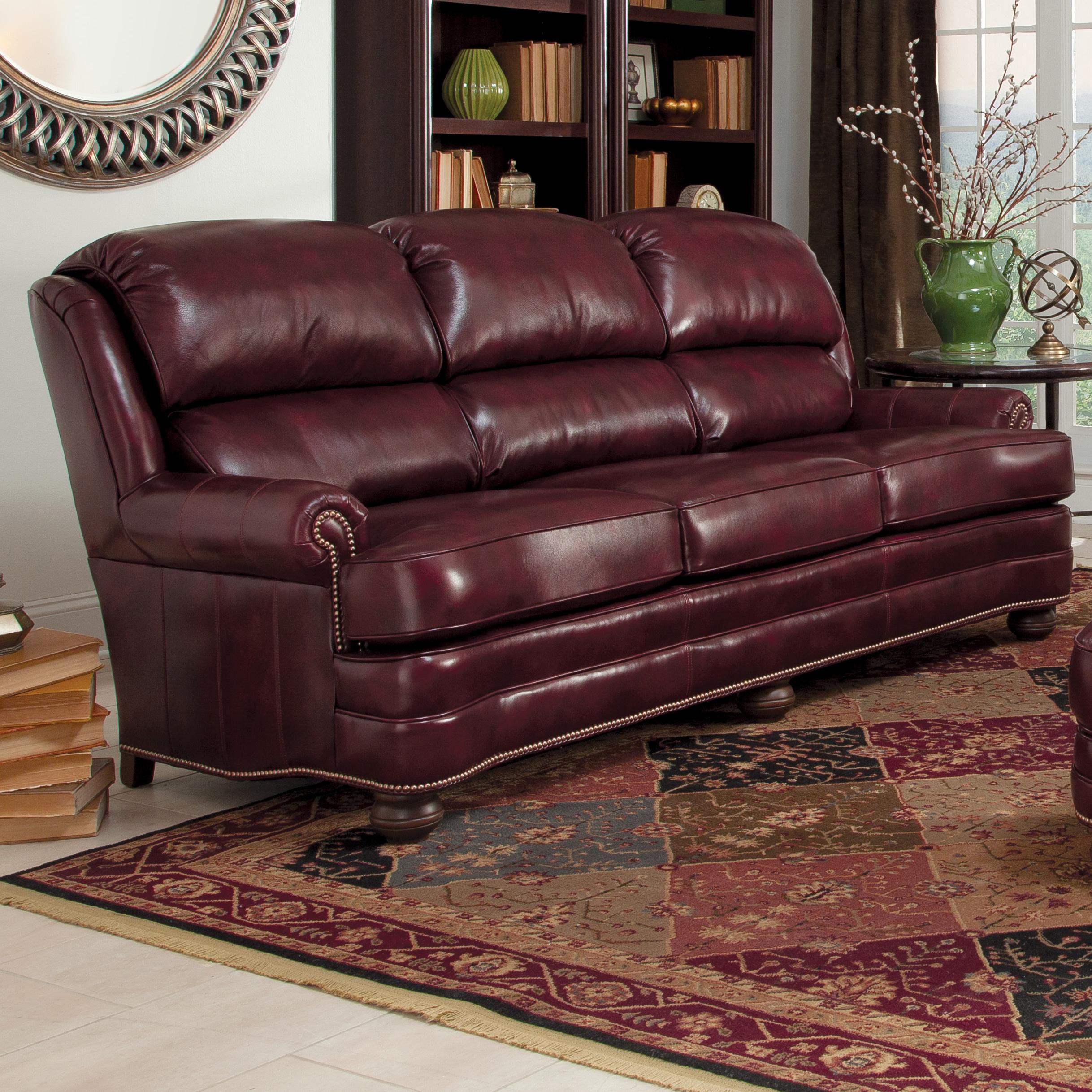 311 Upholstered Stationary Sofa by Smith Brothers at Rooms for Less