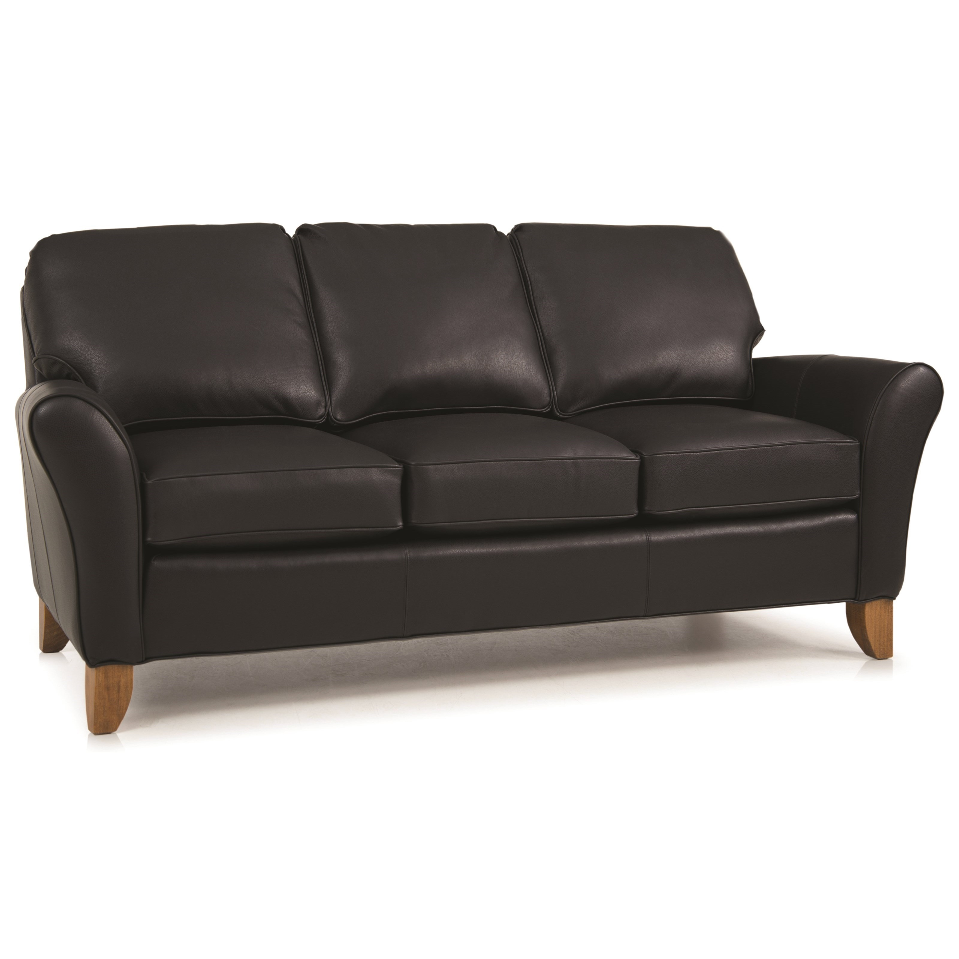 344 L Upholstered Sofa by Smith Brothers at Mueller Furniture