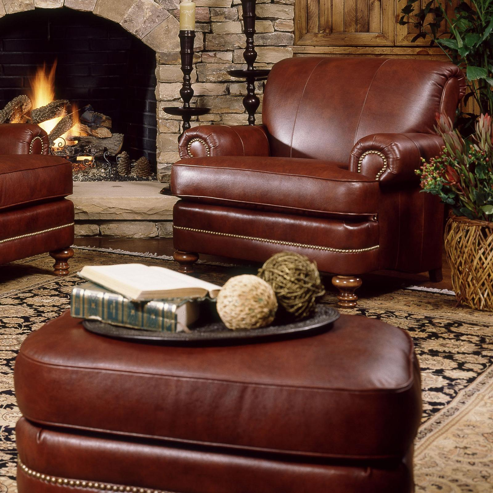 346 Chair and Ottoman Set by Smith Brothers at Miller Home