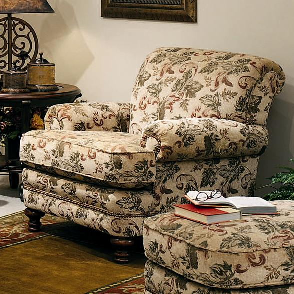 346 Upholstered Chair by Smith Brothers at Pilgrim Furniture City