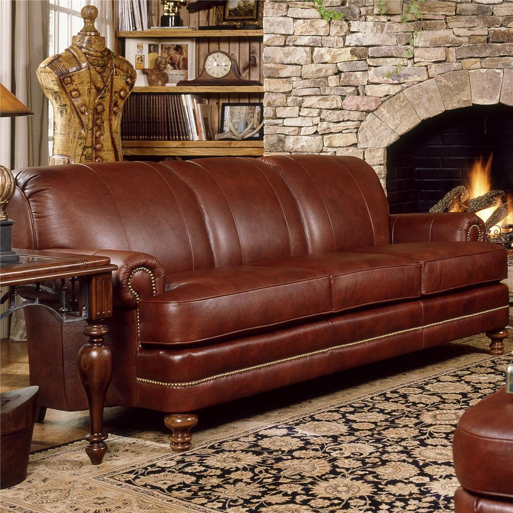 346 Upholstered Stationary Sofa by Smith Brothers at Rooms for Less