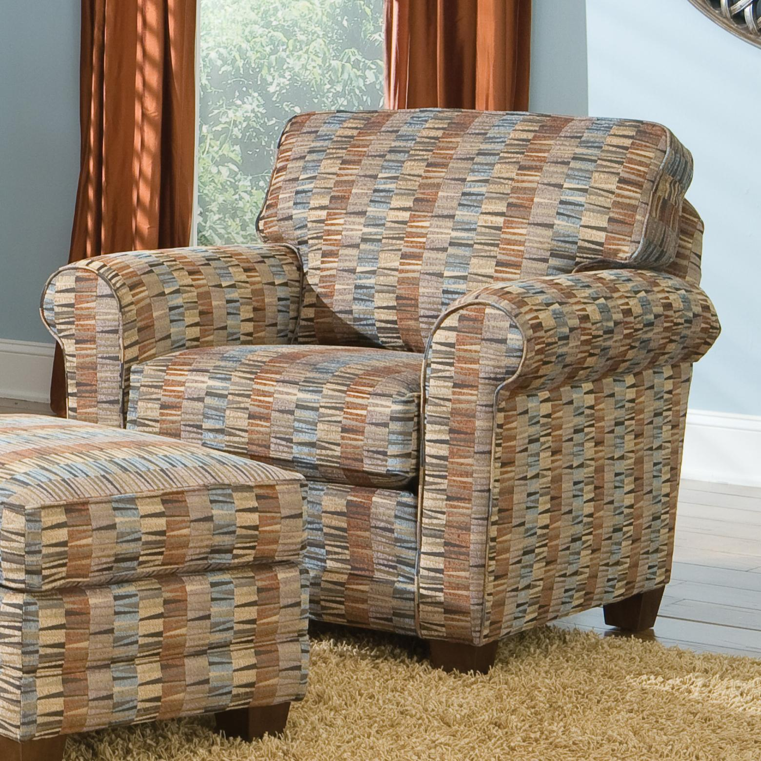 366 Stationary Chair by Smith Brothers at Rooms for Less
