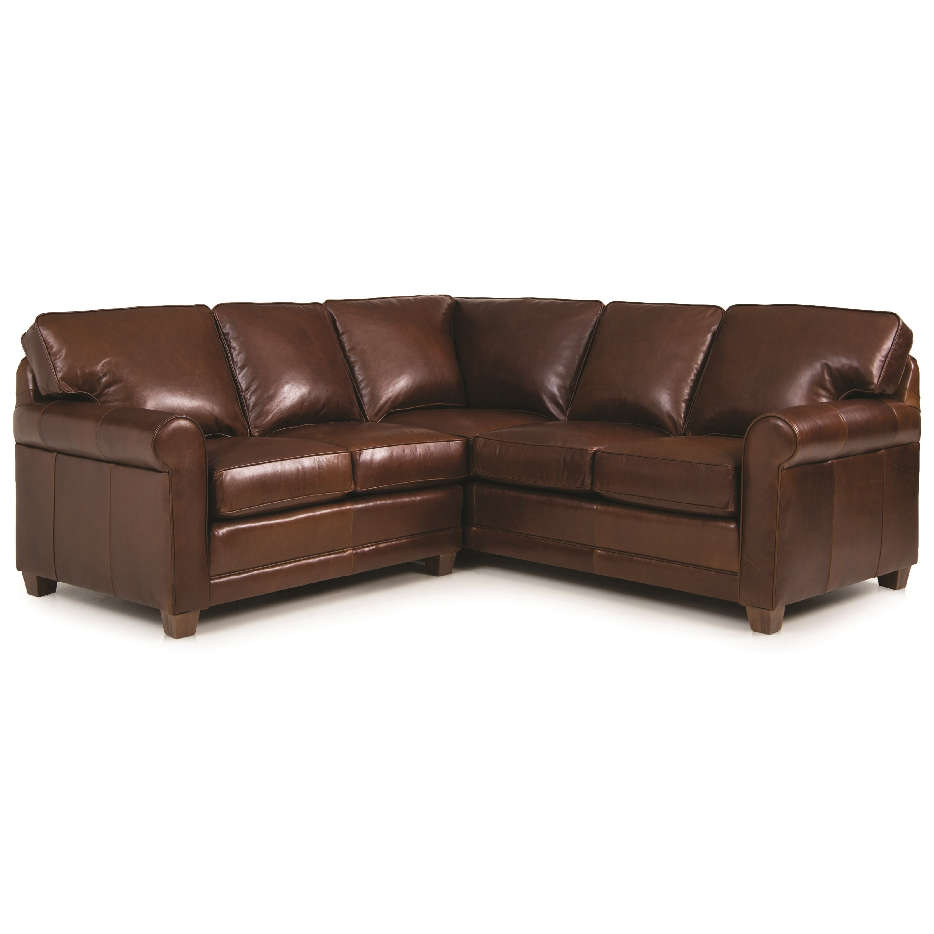 366 2-pc Sectional by Smith Brothers at Miller Home