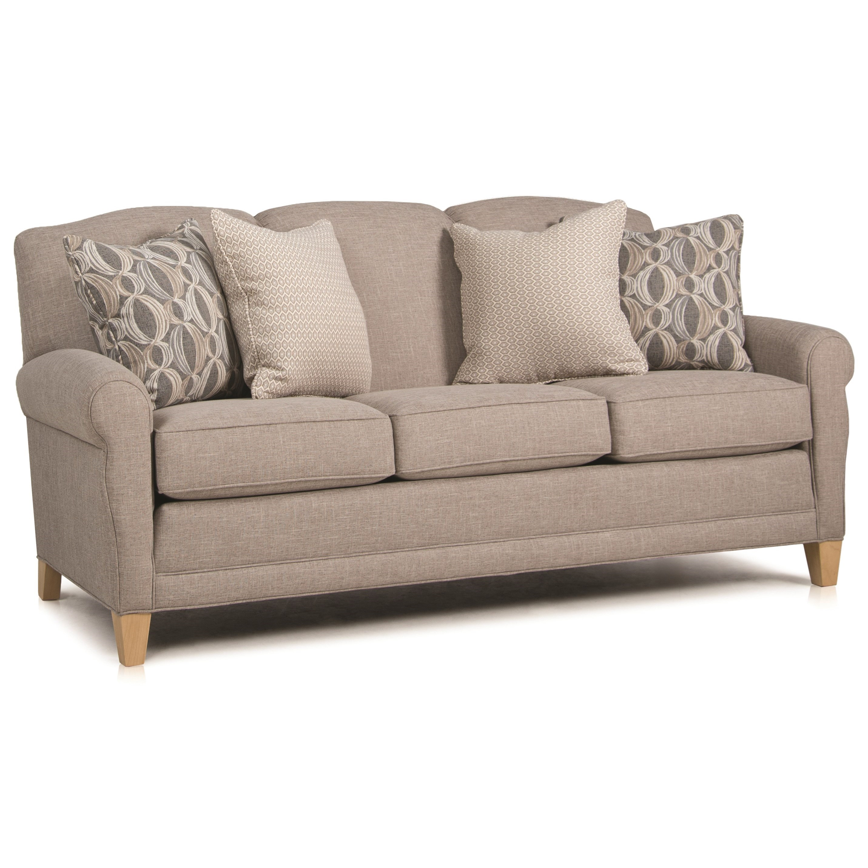 374 Stationary Sofa by Smith Brothers at Sprintz Furniture