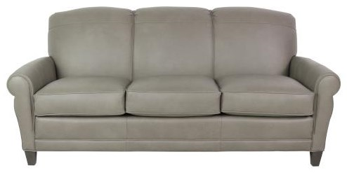 374 Leather Sofa by Smith Brothers at Sprintz Furniture