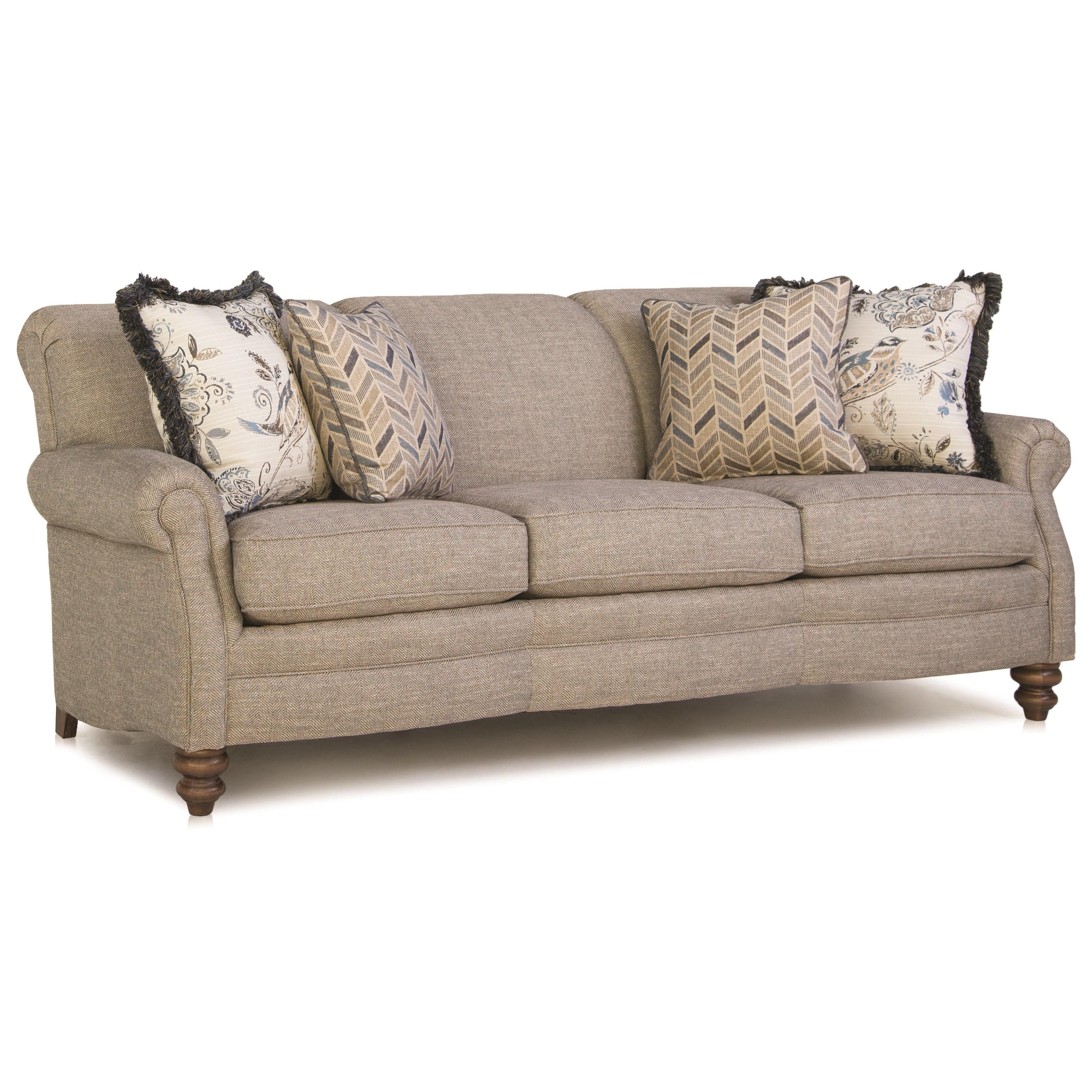 383 Customizable Sofa by Smith Brothers at Johnny Janosik