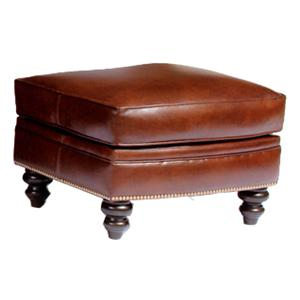 Customizable Upholstered Ottoman