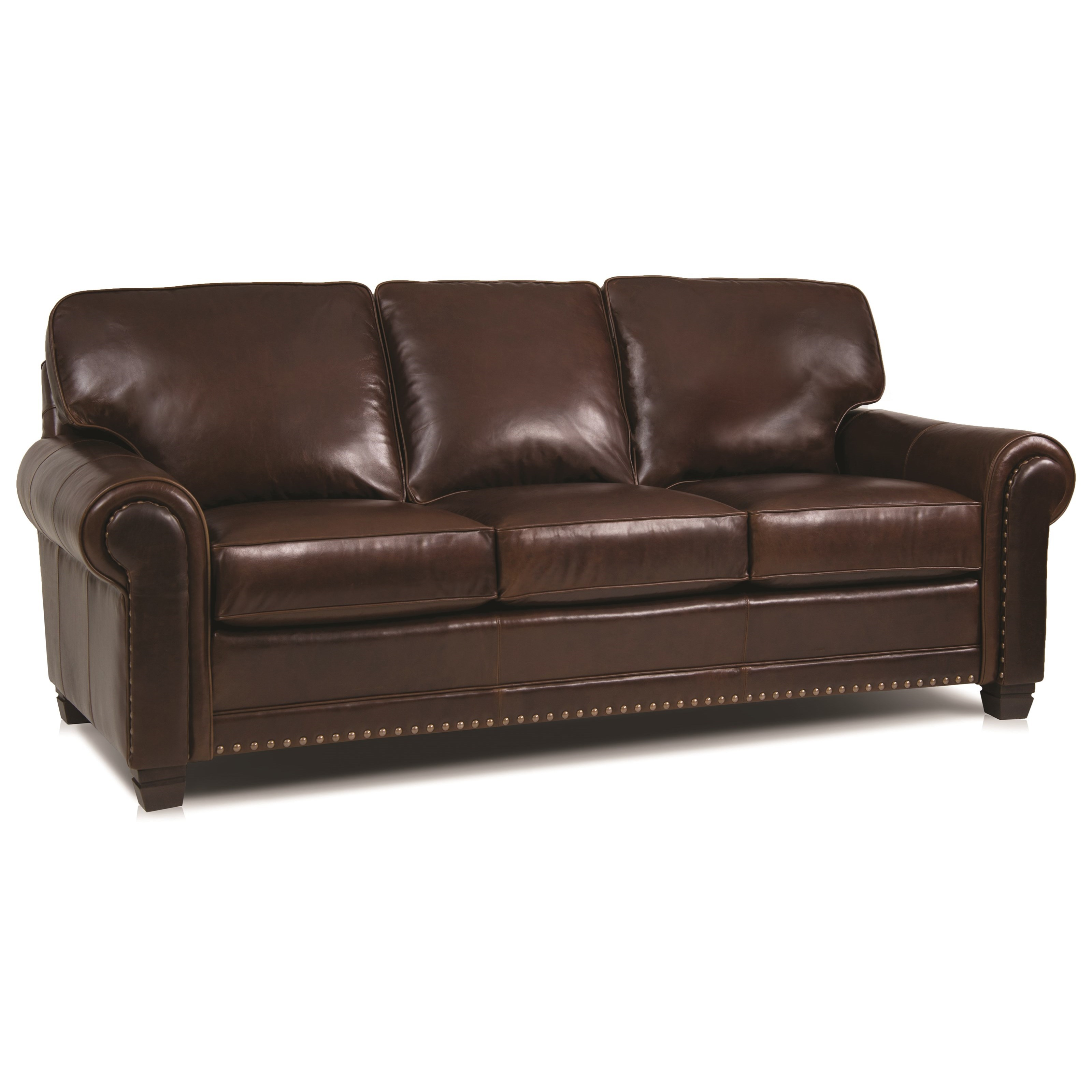 393 Traditional Stationary Sofa by Smith Brothers at Miller Home