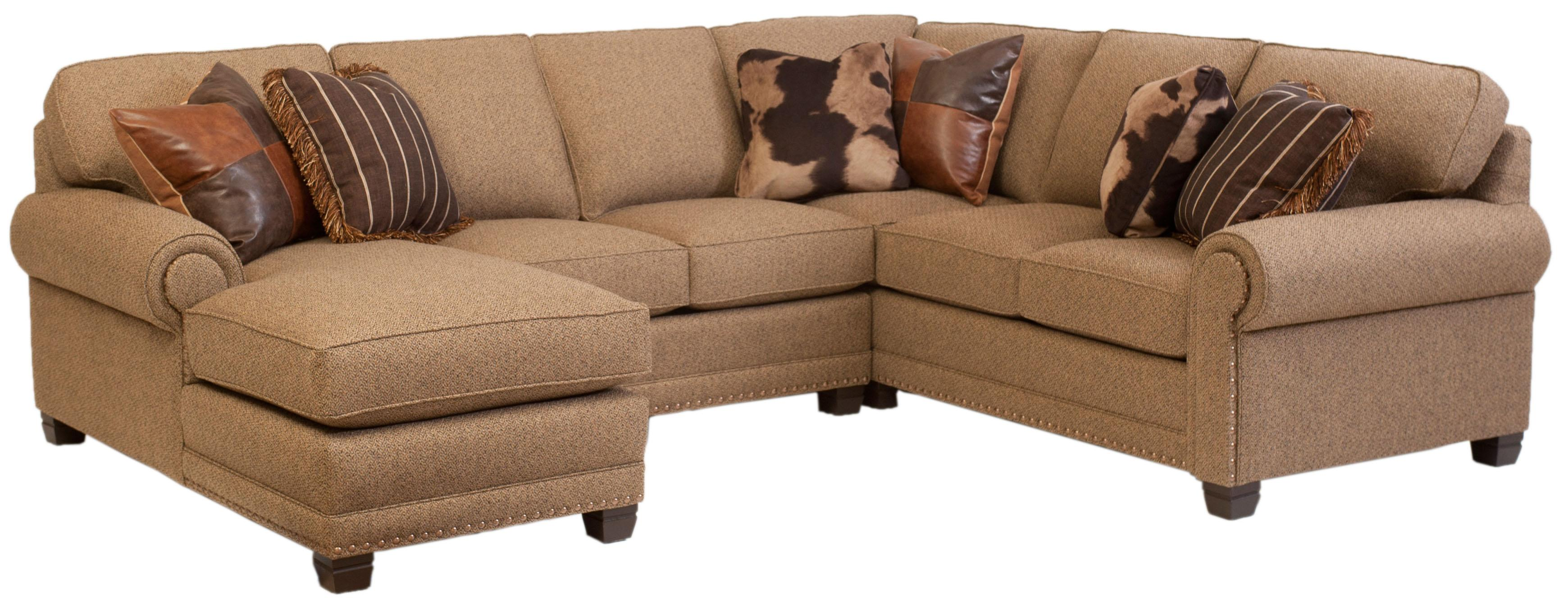 393 Sectional by Smith Brothers at Saugerties Furniture Mart