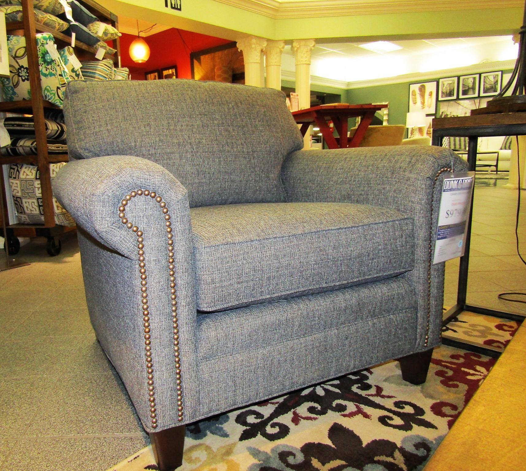 395 Style Group Chair by Smith Brothers at O'Dunk & O'Bright Furniture
