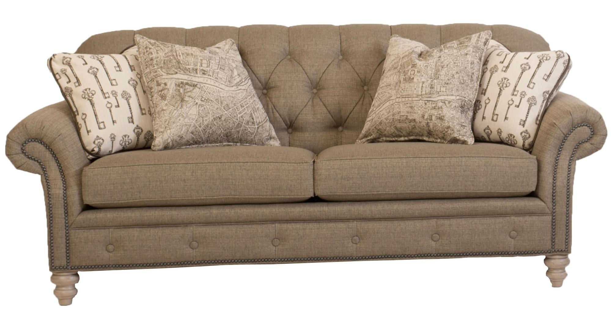 396 Sofa by Smith Brothers at Westrich Furniture & Appliances