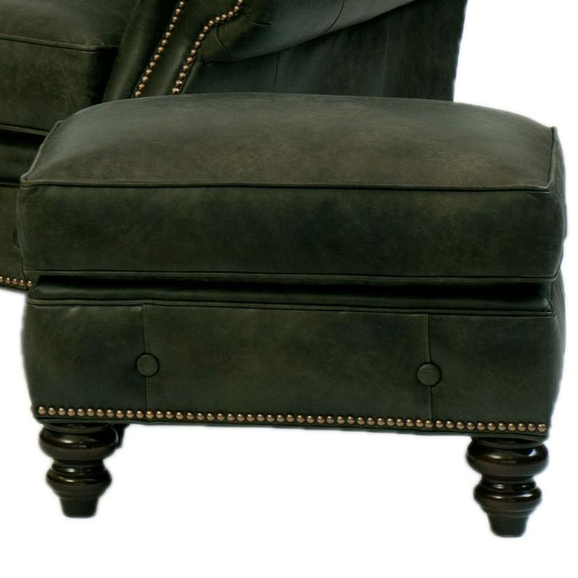 396 Ottoman by Smith Brothers at Mueller Furniture